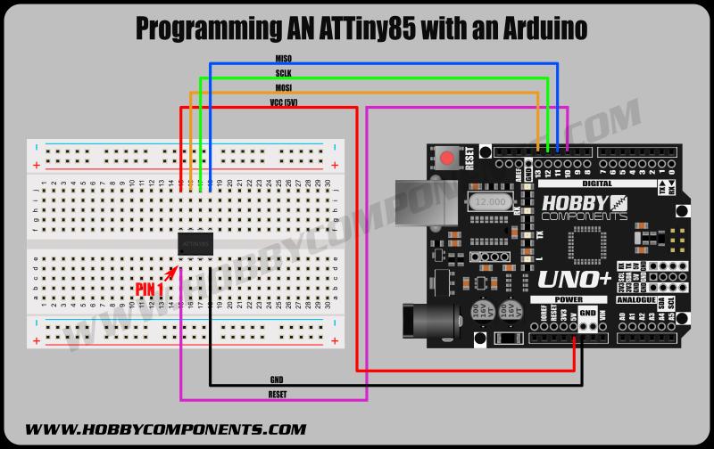 ATtiny85_Arduino_ICSP_Example